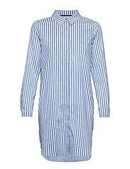 DHEtta Shirt Dress - WEDGEWOOD/WHITE STRIPE
