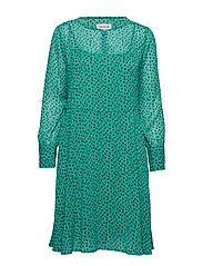 DHAgnes Dress - PARAKEET AOP