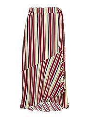 DHGracia Wrap Skirt Multi colour st - MULTI COLOUR