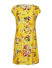 DHSørine Dress All Over Printed - LEMON MERINGUE PRINT