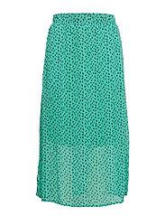 DHAgnes Long Skirt - PARAKEET AOP