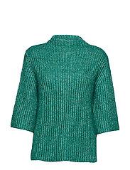 DHNew Coco Knit blouse - PARAKEET