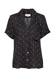 DHCarmen Shirt - BLACK DOT PRINT