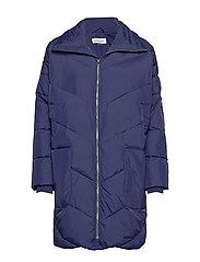 DHDiega Long Down Jacket - PEACOAT