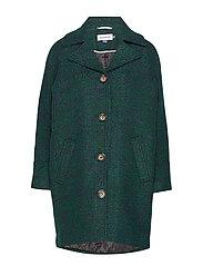 DHCanyon Wool Coat - JUNE BUG