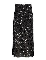 DHMona Skirt - BLACK PRINT