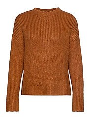 DHWillow Knit Pullover - CINNAMON STICK