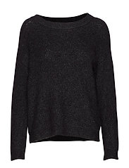05 THE KNIT PULLOVER - BLACK