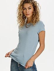Denim Hunter - 16 THE MODAL TEE - t-shirts - ashley blue - 0