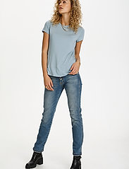 Denim Hunter - 16 THE MODAL TEE - t-shirts - ashley blue - 3