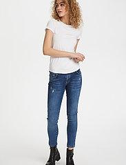 Denim Hunter - 16 THE MODAL TEE - t-shirts - optical white - 3
