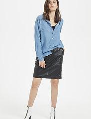Denim Hunter - 15 THE DENIM SHIRT - jeansskjortor - light denim blue - 0