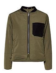 DHGrue Short Jacket - DUSTY OLIVE