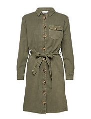 DHAlto Shirtdress - DUSTY OLIVE