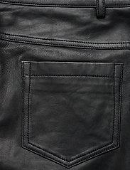 Denim Hunter - 24 THE LEATHER PANT - lederhosen - black - 5