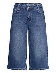 DHMattie Long Shorts Custom - DARK BLUE WASH