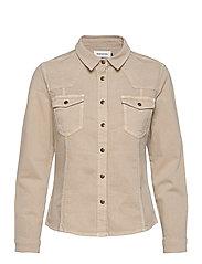 DHBlake Shirt - PLAZA TAUPE WASHED