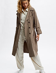 Denim Hunter - DHLiv Trenchcoat - trenchcoats - walnut - 3