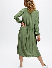 Denim Hunter - DHSandy Dress - vardagsklänningar - oil green dot print - 4