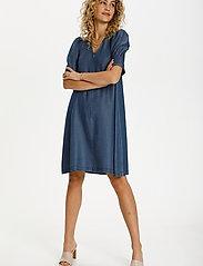 Denim Hunter - DHLouisa Dress - sommarklänningar - dark blue wash - 3