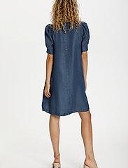 Denim Hunter - DHLouisa Dress - sommarklänningar - dark blue wash - 4