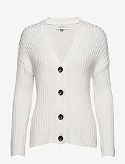 Denim Hunter - DHOlive Knit Cardigan - neuletakit - whisper white - 0