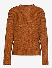 Denim Hunter - DHWillow Knit Pullover - neulepuserot - cinnamon stick - 0