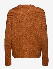 Denim Hunter - DHWillow Knit Pullover - neulepuserot - cinnamon stick - 1