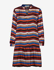 Denim Hunter - DHStry Dress - shirt dresses - multi colour stripes - 0