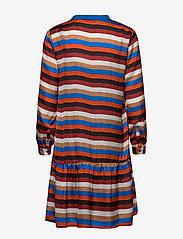 Denim Hunter - DHStry Dress - shirt dresses - multi colour stripes - 1