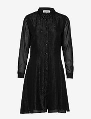 Denim Hunter - DHMollyMy Dress - shirt dresses - black - 0