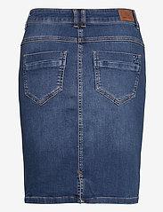 Denim Hunter - 12 THE DENIM SKIRT - jeanskjolar - medium blue vintage wash - 2