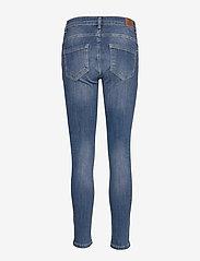 Denim Hunter - 40 THE CELINAZIP TORN CUSTOM - skinny jeans - medium blue vintage wash - 1