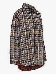 Denim Hunter - DHTwigg Jacket - wool jackets - hazel checks - 4
