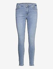 Denim Hunter - DHCillezip Custom - skinny jeans - light blue wash - 0
