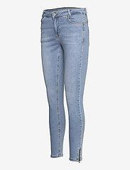 Denim Hunter - DHCillezip Custom - skinny jeans - light blue wash - 2