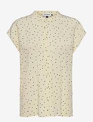 Denim Hunter - DHMaya SS Shirt - kortärmade blusar - afterglow dot print - 1