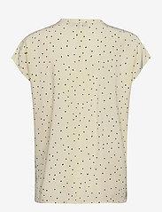Denim Hunter - DHMaya SS Shirt - kortärmade blusar - afterglow dot print - 2