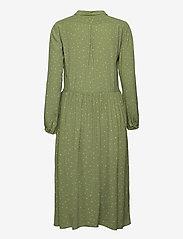 Denim Hunter - DHSandy Dress - vardagsklänningar - oil green dot print - 2