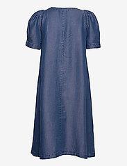 Denim Hunter - DHLouisa Dress - sommarklänningar - dark blue wash - 2