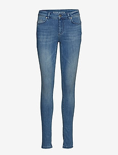 Celina long custom - jeans skinny - blue wash