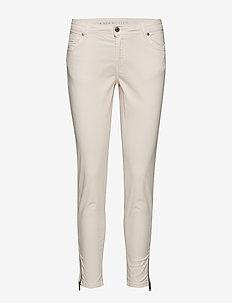 Velma Zip 78 Custom - dżinsy skinny fit - pearl