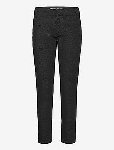 Sandy Velvet 7/8 Custom - slim jeans - black