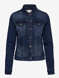 07 THE DENIM JACKET - kurtki dżinsowe - medium blue wash