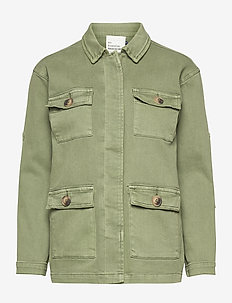 20 THE ARMY JACKET - utility jassen - dusty olive