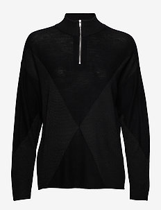 25 THE ZIPKNIT - golfy - black