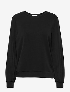 23 THE SWEAT BLOUSE - svetarit - black