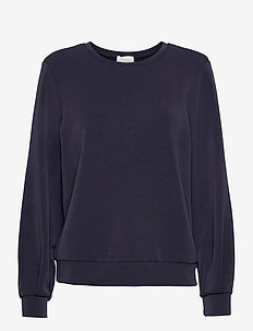 23 THE SWEAT BLOUSE - sweatshirts - navy blazer