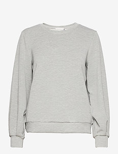 23 THE SWEAT BLOUSE - sweatshirts & hoodies - titanium melange
