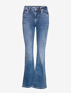 DHCelina Bootcut High Custom - MEDIUM BLUE WASH
